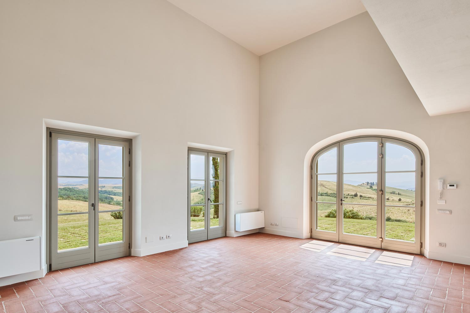 Picturesque French doors in Il Belvedere 4B - villa for sale in Tuscany