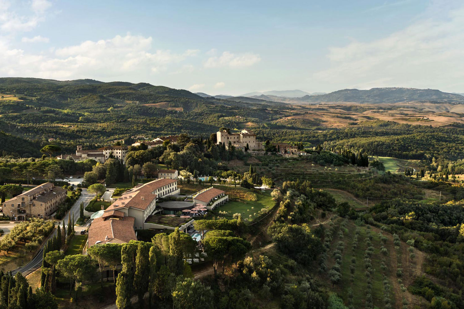 Hotel Il Castelfalfi is the estate's five-star accommodation